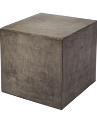 Concrete Cube Table by