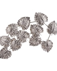 Metal Leaf Wall Decor by