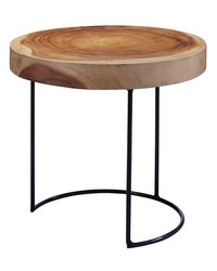 Suar Wood Slab Table by
