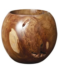 Small Teak Bowl by