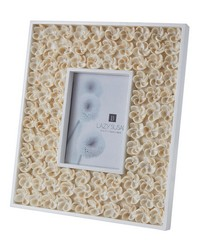 5X7 Natural Shell Bud Frame by