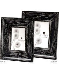 Cerused Black Convex Frame - 4 X 6 by