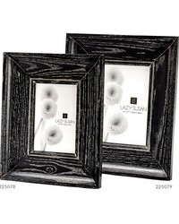 Cerused Black Convex Frame - 5 X 7 by