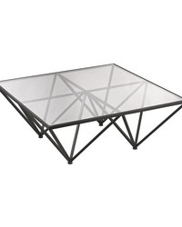 Geometric Coffee Table by