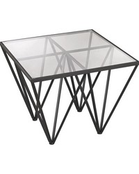 Geometric Side Table by