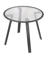 Geometric Accent Table by