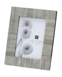 Pin Stripe Bone Frame 5x7 by