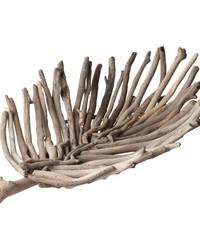 Driftwood Leaf Tray - Lg by