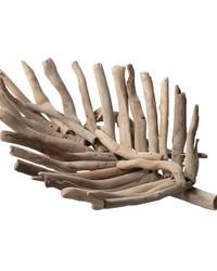 Driftwood Leaf Tray - Sm by