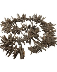 Charcoal Driftwood Garland by