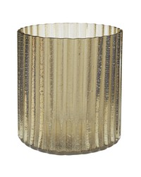 Champagne Fizz Fluted Votive - Sm by