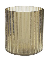 Champagne Fizz Fluted Votive - Lg by