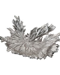 Nickel Star Leaf Bowl by