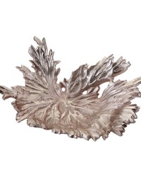 Rose Gold Star Leaf Bowl by
