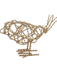 Brass Scribble Bird - Sm by