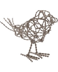 Nickel Scribble Bird - Sm by