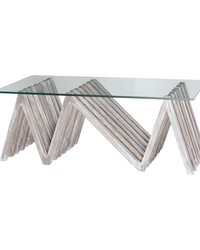 Index Asymmetrycal Coffee Table by