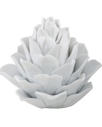 White Porcelain Artichoke by