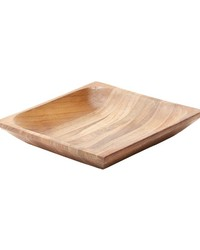 Natural Shallow Teak Tray - Sm by