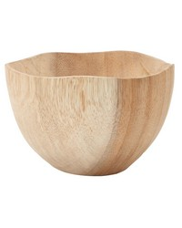 Natural Hand Carved Mortar Dish - Sm by