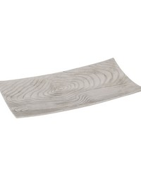 Large Textured Rectangular Bowl by