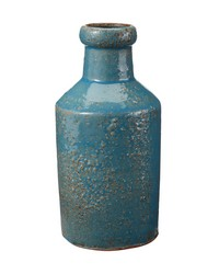 Rustic Ocean Milk Bottle by