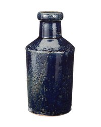 Rustic Denim Milk Bottle by