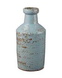 Rustic Persian Milk Bottle by
