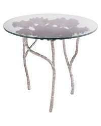 Victoria Round Side Table by