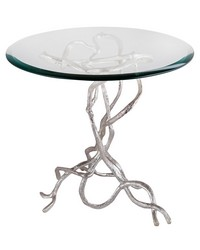 Woven Vines Side Table by
