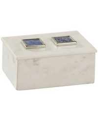 Marble and Lapis Box by