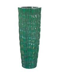 Largee Green Wave Vessel by