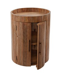 Drum Bar Table by