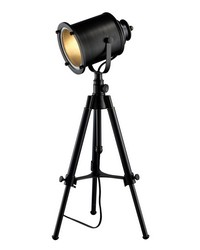 Ethan Adjustable Tripod Table Lamp in Restoration Black by
