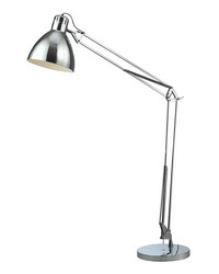Ingelside Floor Lamp In Chrome With Chrome Shade by