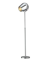 Champlain Adjustable Floor Lamp in Chrome by