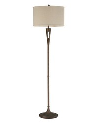 Martcliff Floor Lamp in Burnished Bronze by