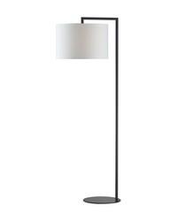 Bronze Stem Floor Lamp by
