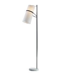 Banded Shade Floor Lamp by