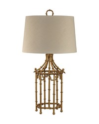 Bamboo Birdcage Lamp by