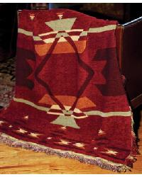 Flame Tapestry Throw by