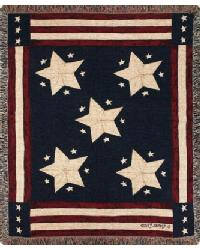 Long May It Wave Throw Blanket by