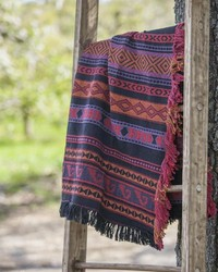 Navajo Red -50x60 Tap Throw by