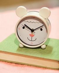 Lamb Small Animal Table Clock by