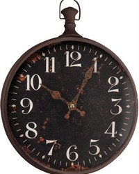 Pocket Watch Wall Clock Large by