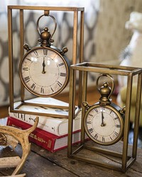 Boxed In Clock Set  by