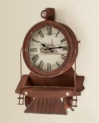 Locomotive Wall Clock by