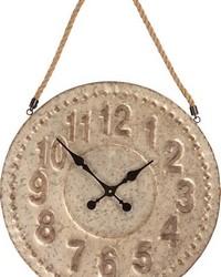 Metal Wall Clock by