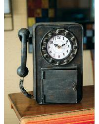 Retro Telephone Clock by