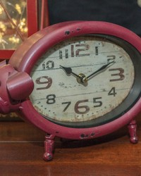 Pig Table Clock by